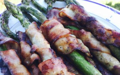 Hvasser Asparges & Bacon på grillen