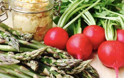 Hvasser Asparges & Hummus