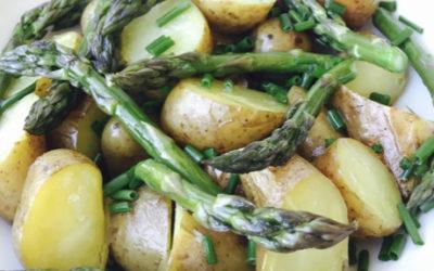 Hvasser Asparges & Potetsalat