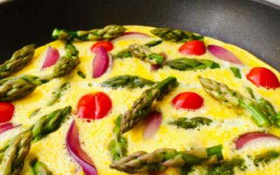 Hvasser Asparges & Omelett