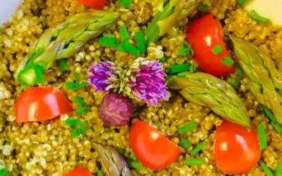 Hvasser Asparges & Quinoasalat